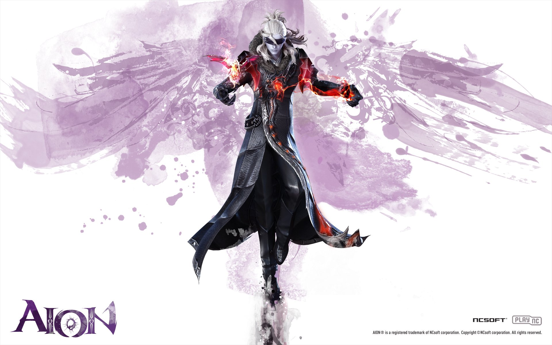 Character Design Wallpaper : Aion official wallpapers daeva s report