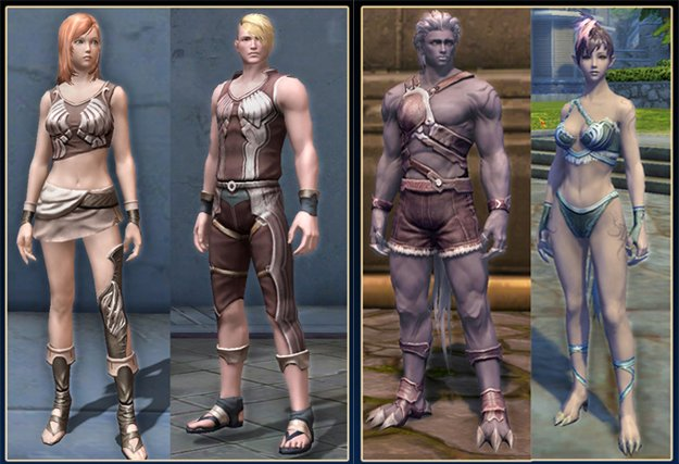 3d aion sexy skins and nude patch - 4 7