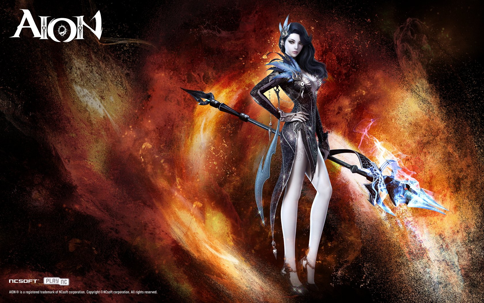 Aion nude wallpaper erotic pic