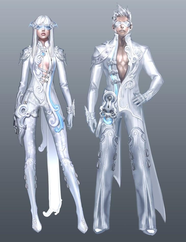 Character Design Set : Aion official multimedia daeva s report